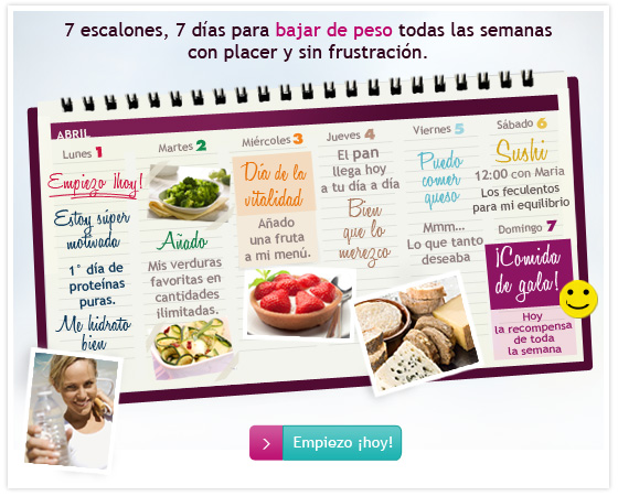 Escalera Nutricional