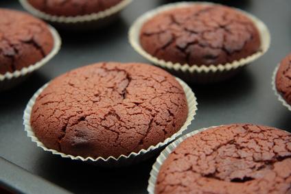 Brownie de chocolate y avellana